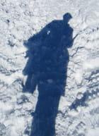 ombres sur la neige