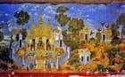 Palais, fresque du préau