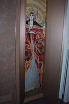 panneau décoratif sur le Costa Magica