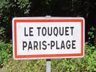 Panneau (Le Touquet)