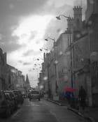 Parapluie rouge-Etampes