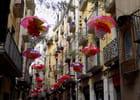 parapluies en fleurs