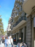 Passeig de gracia Barcelone