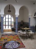 Patio intérieur Riad la maison des épices à El jadida au Maroc