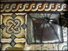 Pavage mosaïque et verre