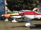 Paysage aéronautique.