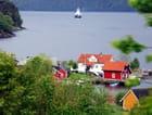 paysage des fjords en Norvège