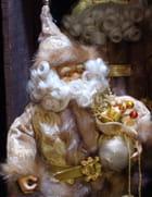 Père Noël Or et Argent