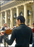 Performance publique au Palais-Royal