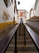 Perspective d'escalier