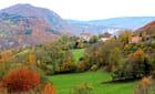 petit village d'automne