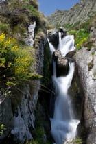 Petite cascade de montagne...