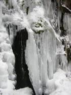 Petite cascade en hiver