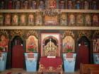 Petite église en bois de Zboj: l'iconostase