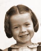 Petite fille en 1950