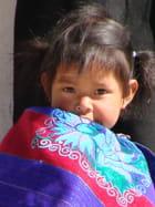 Petite fille tzotzile