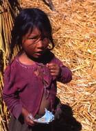 Petite indienne aymara ....