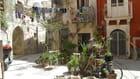 Petite maison typique de la Sicile