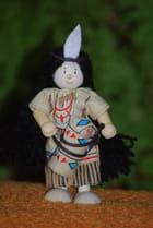 petite poupée indienne