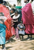Petites Filles Massaïs