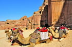 Petra, ancienne cité caravanière nabatéenne.