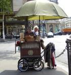Photo insolite près de l'opéra Garnier
