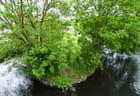 Photo prise depuis le pont de Gravigny