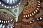 Plafond de la mosquée Sultamamet