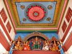 Plafond de la salle de prière