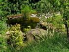 Plan d'eau, jardin du château de Chaumont