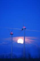 Pleine lune en normandie