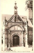 Porche de l'église St-Gouesnou