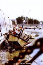 Port de Dahouet aout 1980