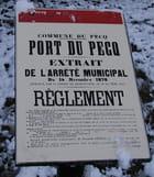 Port du Pecq 1876 (Réglement)