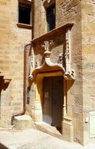 Porte armoriée