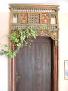 Porte de Jerba : peinture végétale