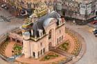 Porte de Paris vue du ciel