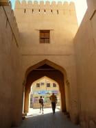 Porte du fort de Nizwa