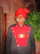 Portier dans un restaurant à Jodhpur