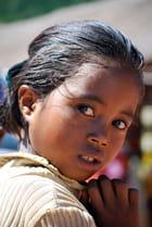 Portrait d'une jeune fille Merina