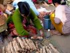 Préparation de la poudre de tanakha