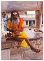 prêtre au rajasthan