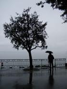Printemps pluvieux sur le Léman