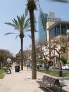 Promenade sur le boulevard Rothschild