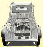 Prototype 2cv citroen 1939