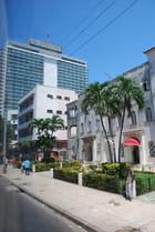 quartier moderne de La Havane