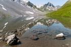 Reflet du Rothorn dans le lac Alpisee