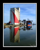 reflet ,le silo