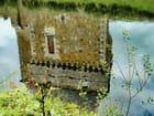 Reflets d'une tour du château