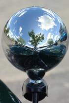 Reflets sur phare de Lotus Seven